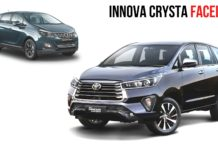 Toyota Innova Crysta Facelift Vs Mahindra Marazzo