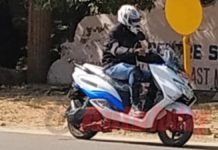 Upcoming Suzuki Burgman based electric scooter spotted testing