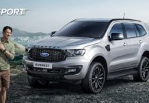 ford endeavour facelift-1