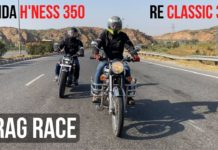 Honda Highness CB350 VS Royal Enfield Classic 350 performance comparison