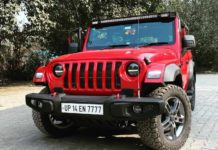 2020 Mahindra Thar modified Bimbra 4x4