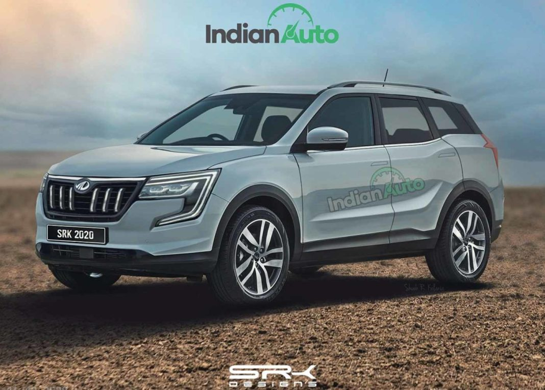 2021 Mahindra XUV 500 Rendering