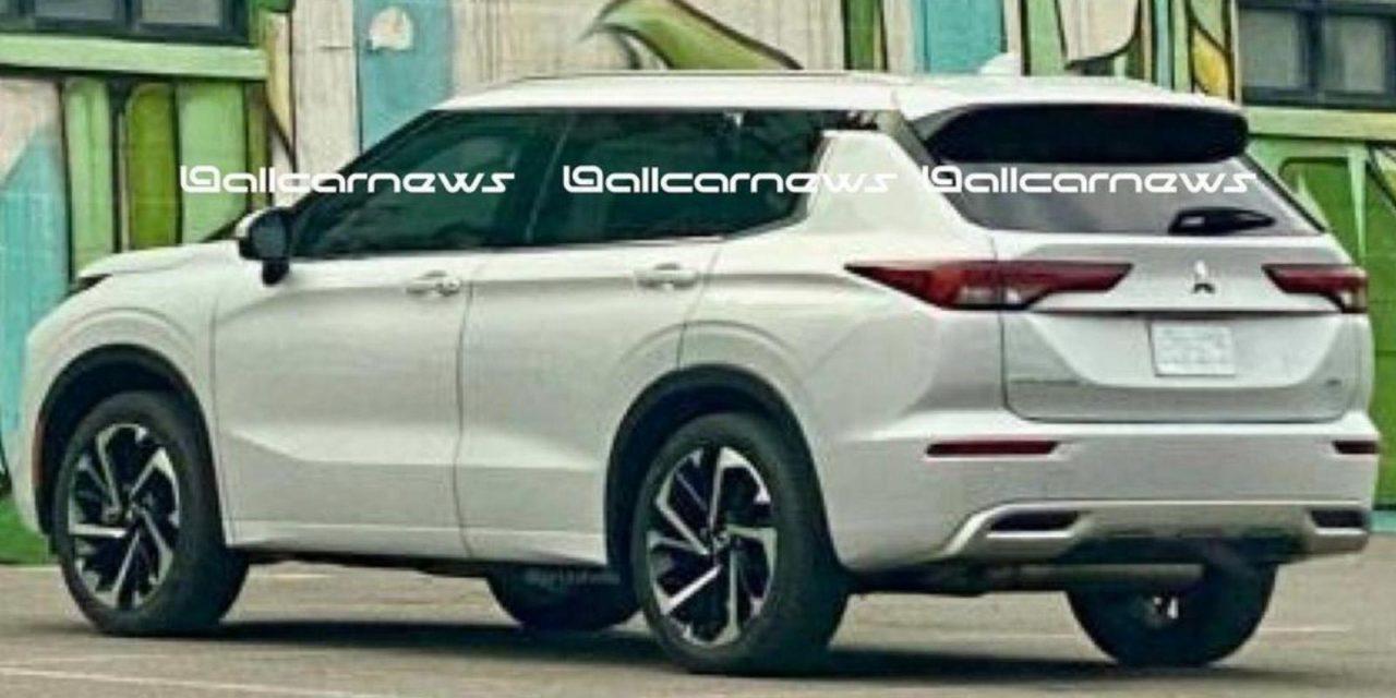 2021 Mitsubishi Outlander Leaked