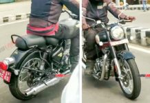 2021 Royal Enfield Classic 350 spied undisguised