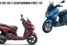 Aprilia-SXR-160-Vs-Suzuki-Burgman-Street-125