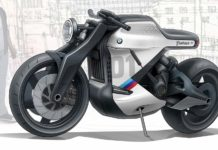 BMW All-Electric Cafe Racer Rendering