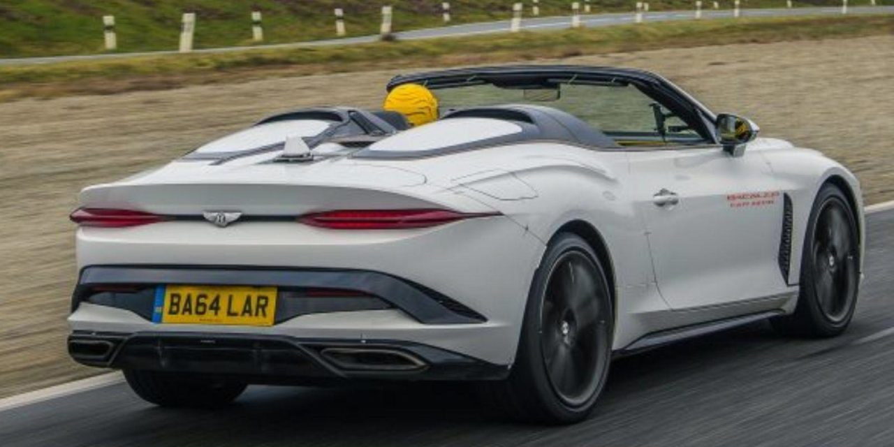 Bentley Mulliner Bacalar Spotted 1