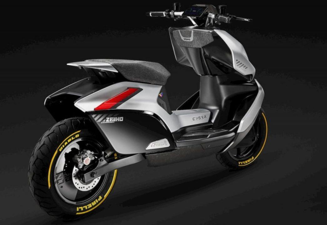 CFMoto Zeeho Cyber Concept rear angle