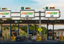 FASTag toll booth