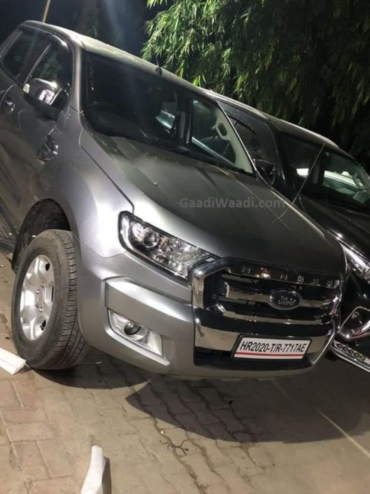 Ford Ranger spotted in India 1