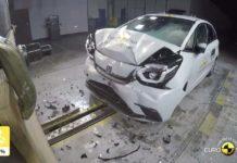 Honda Jazz Euro NCAP Crash Tests
