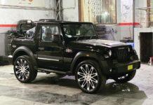 Mahindra Thar 24 inch alloy wheels 1