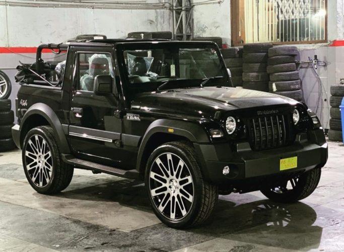 Mahindra Thar 24 inch alloy wheels 3