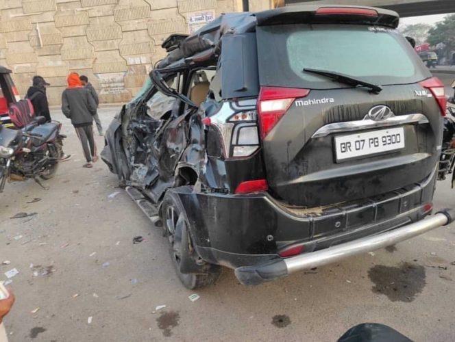 Mahindra XUV500 accident 2