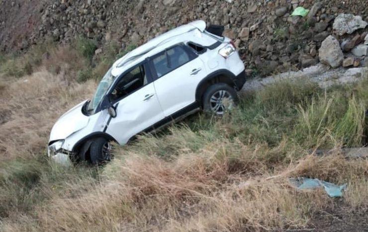 Maruti Brezza accident 3