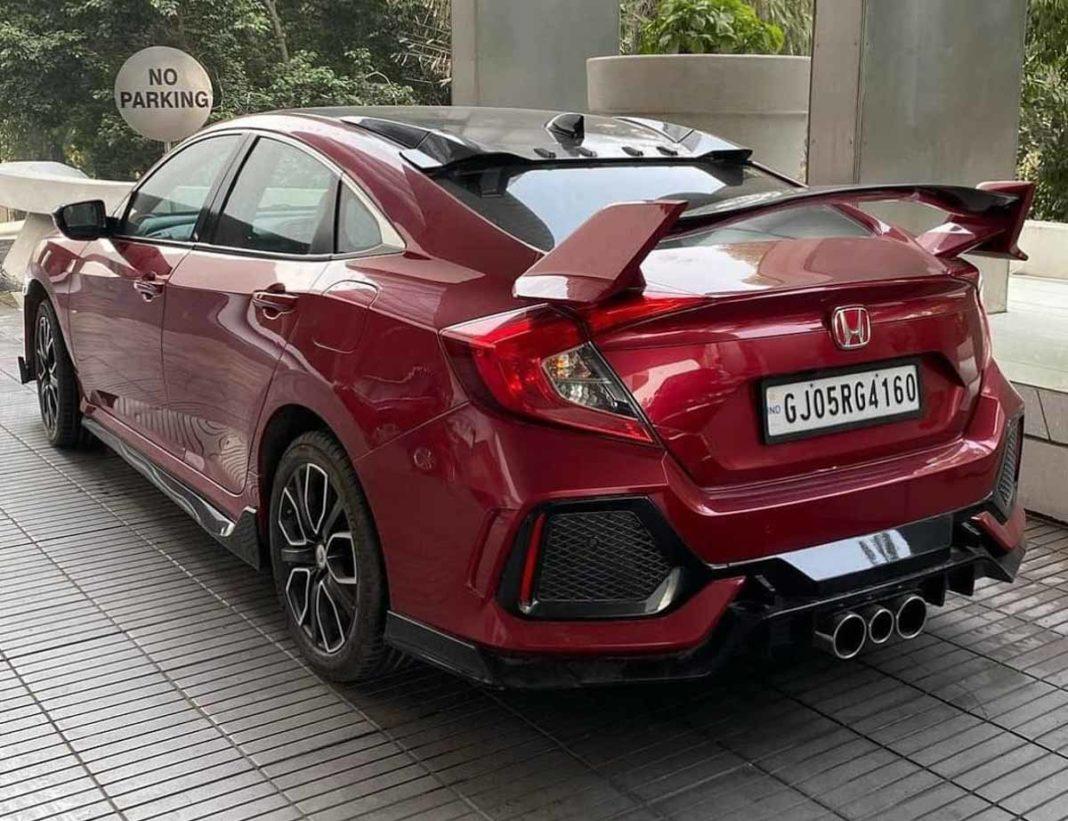Modified Honda Civic-3