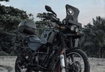 Royal Enfield Himalayan modified 1