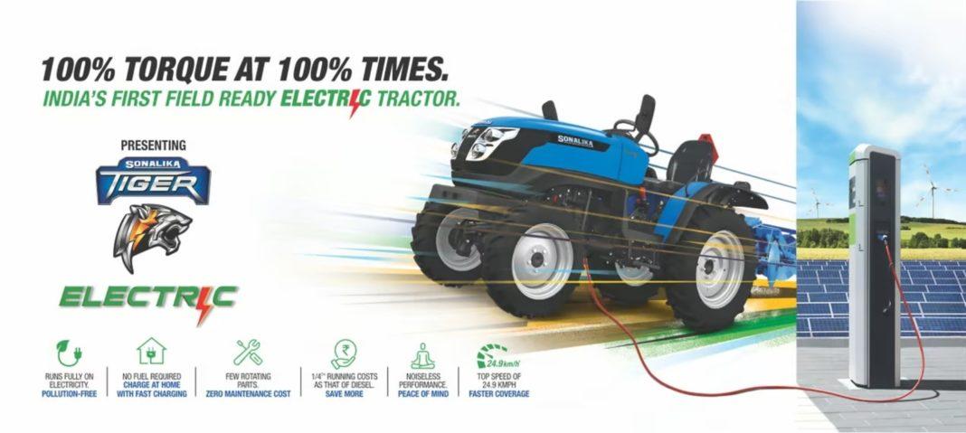 Sonalika Tiger Electric Tractor