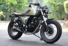 TVS Apache modified scrambler 1