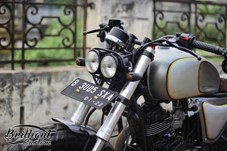 TVS Apache modified scrambler 4