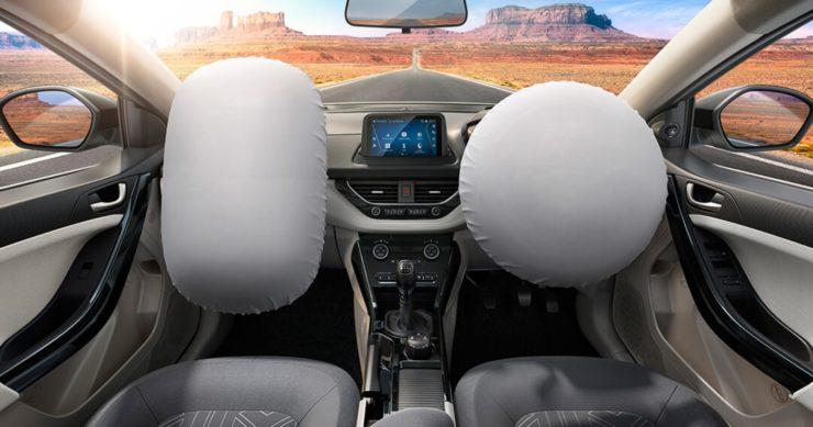 Tata Nexon dual front airbags