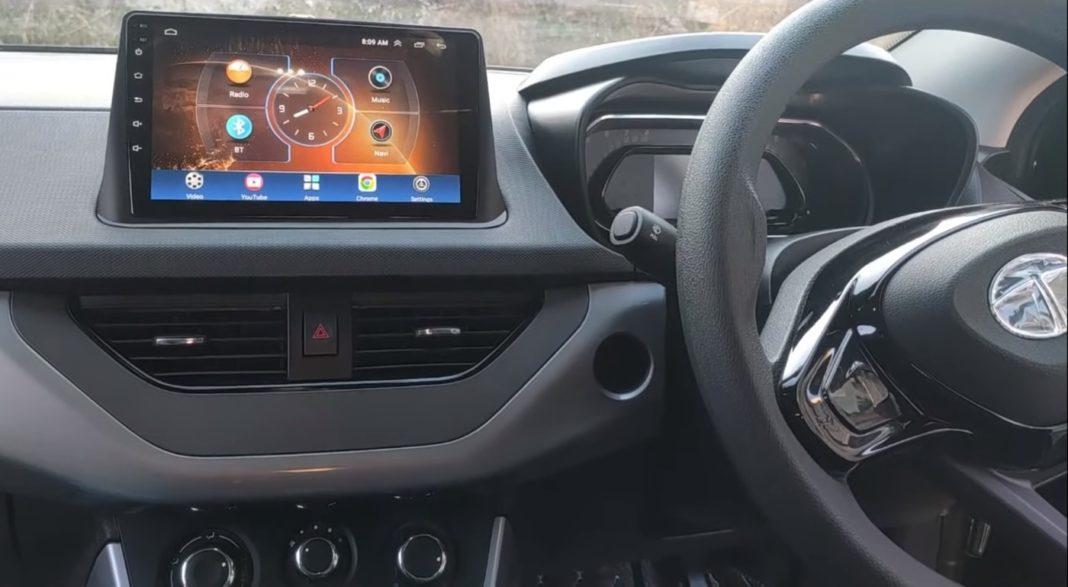 Tata Nexon modified base to top trim interior
