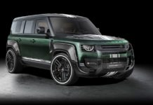modified Land Rover Defender Racing Green Edition 0