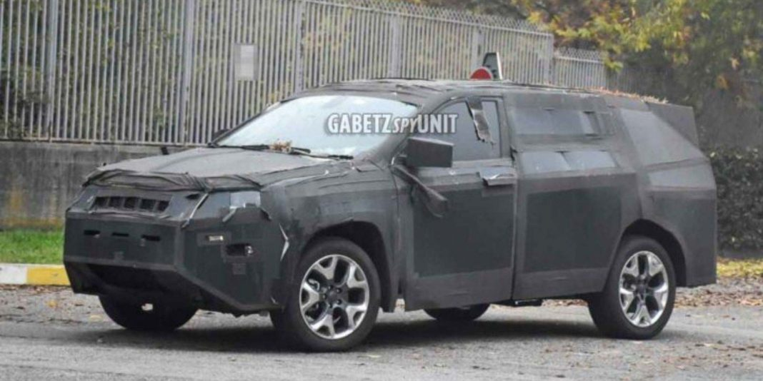 seven-seater 2021 jeep compass spied 6
