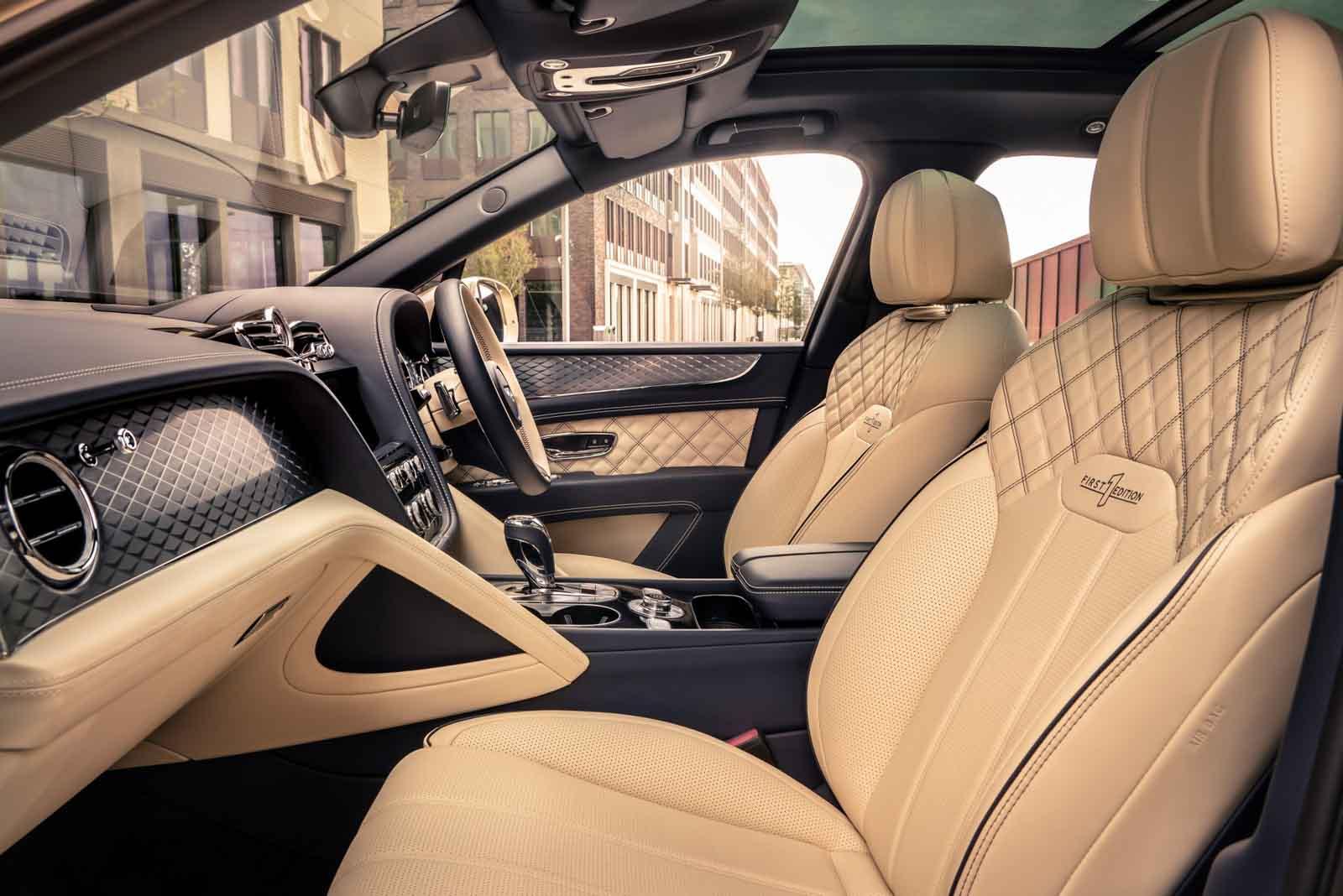 2021 Bentayga Hybrid Interior