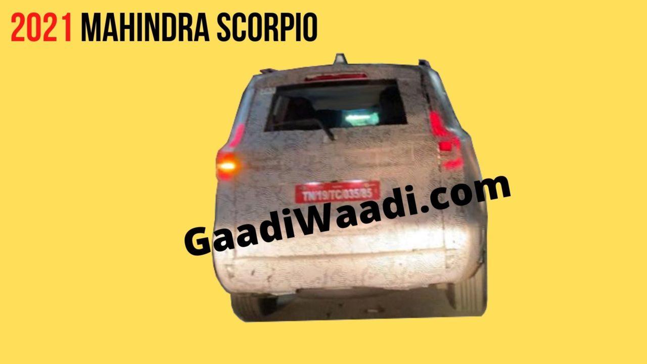 2021 Mahindra Scorpio