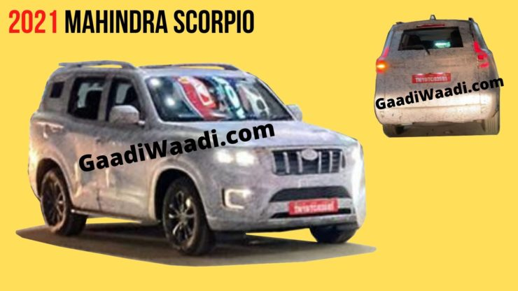 2021 Mahindra Scorpio Spied For The First Time