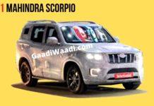 2021 Mahindra Scorpio india
