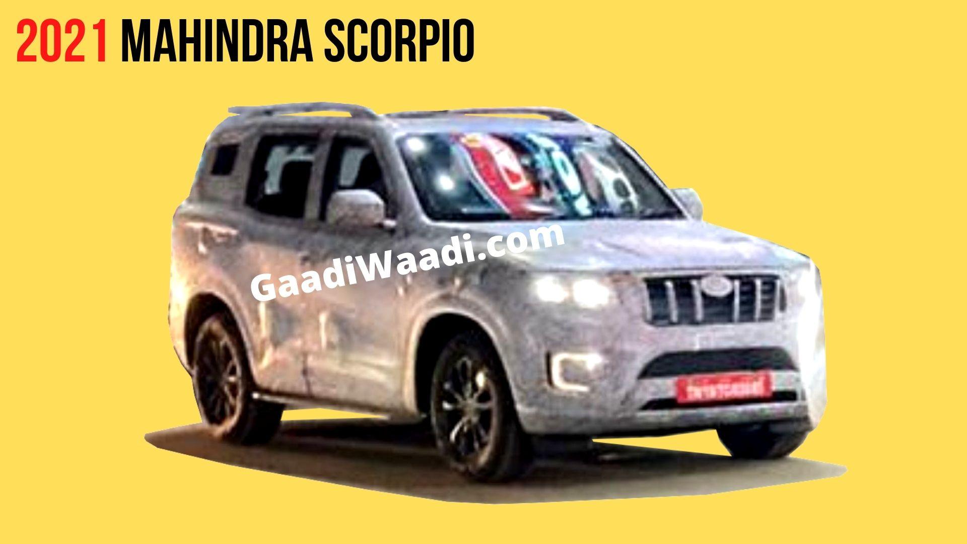 Mahindra Scorpio Next-Gen Alloy Wheel Design Revealed In New Spy Shots