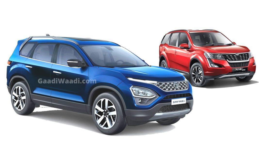 2021 Tata Safari Vs Mahindra XUV500 – Specifications Comparison