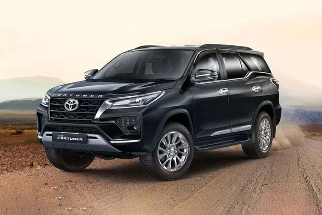 2021 Toyota Fortuner Official Accessories front