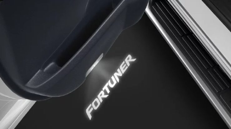 2021 Toyota Fortuner Official Accessories puddle lamp