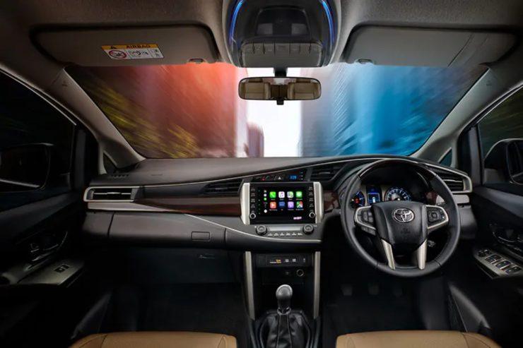 2021 Toyota Innova Crysta interior