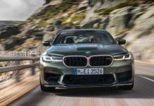 BMW M5 CS front view