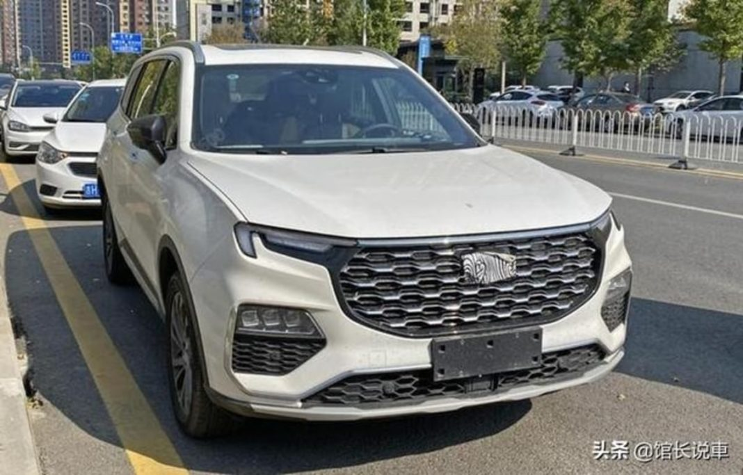 Ford Equator spied China 1