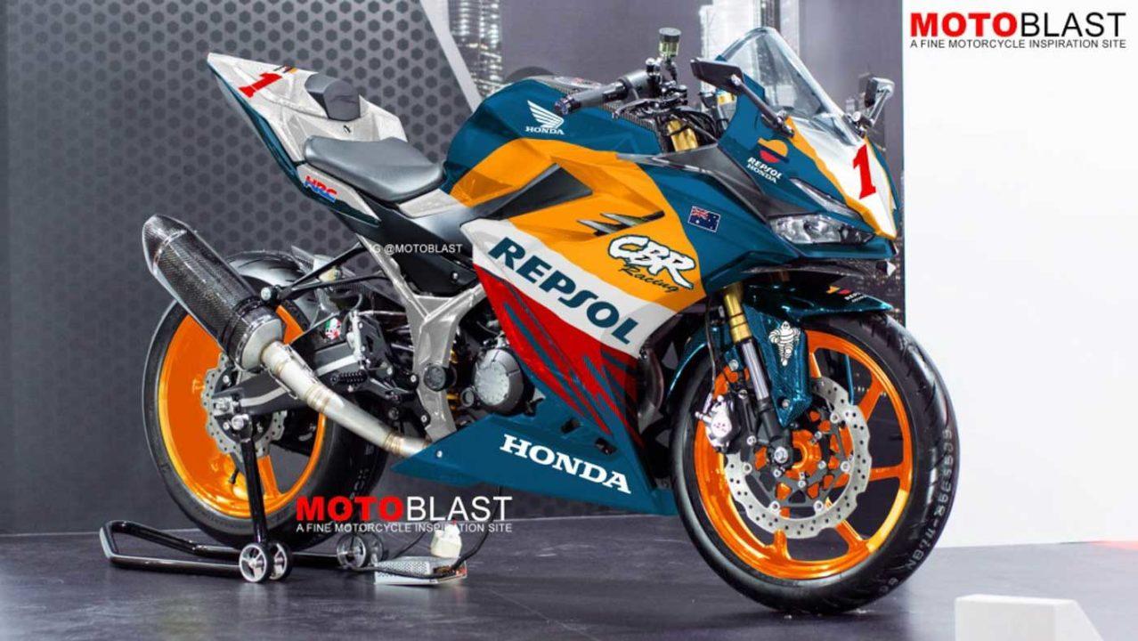 Honda CBR150R CBR150R Customised With Mick Doohan's MotoGP Livery