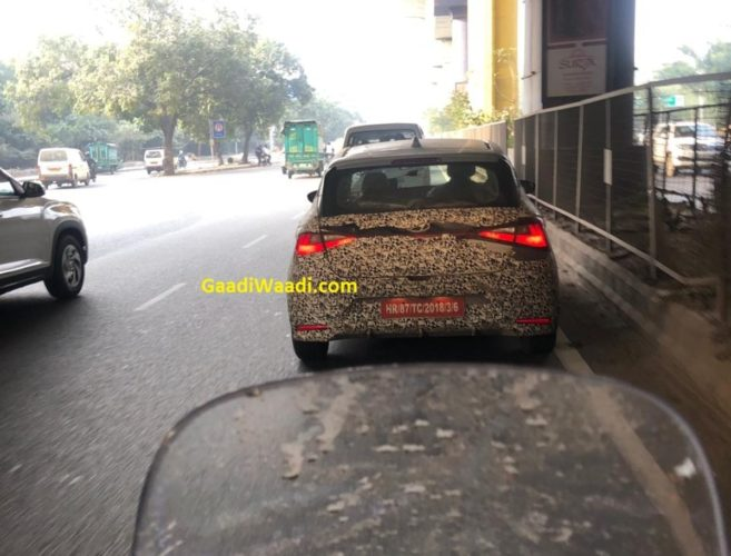 Hyundai i20 N Line Spied in India 2