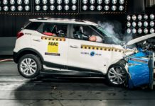 Mahindra XUV300 Global NCAP crash test Africa