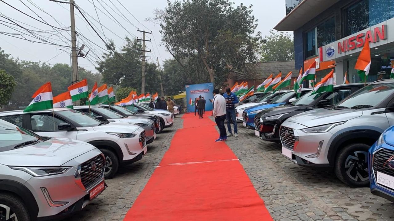 Nissan Magnite 72nd republic day 720 deliveries