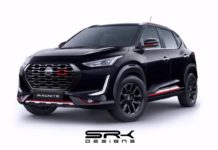 Nissan Magnite Black Edition Digital Rendering