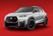 Nissan Magnite NISMO Edition Rendered