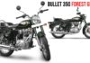 RE Bullet 350 Forest Green