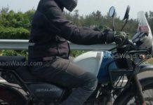 RE Himalayan triper navigation