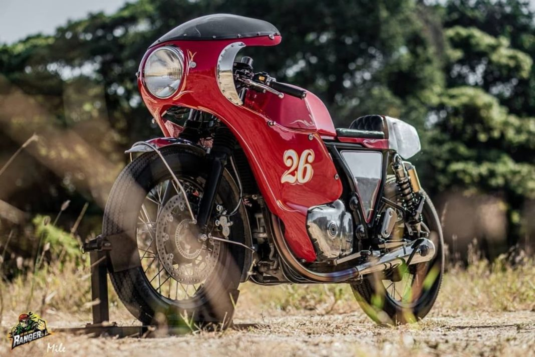 Royal Enfield Continental GT 650 modified 1