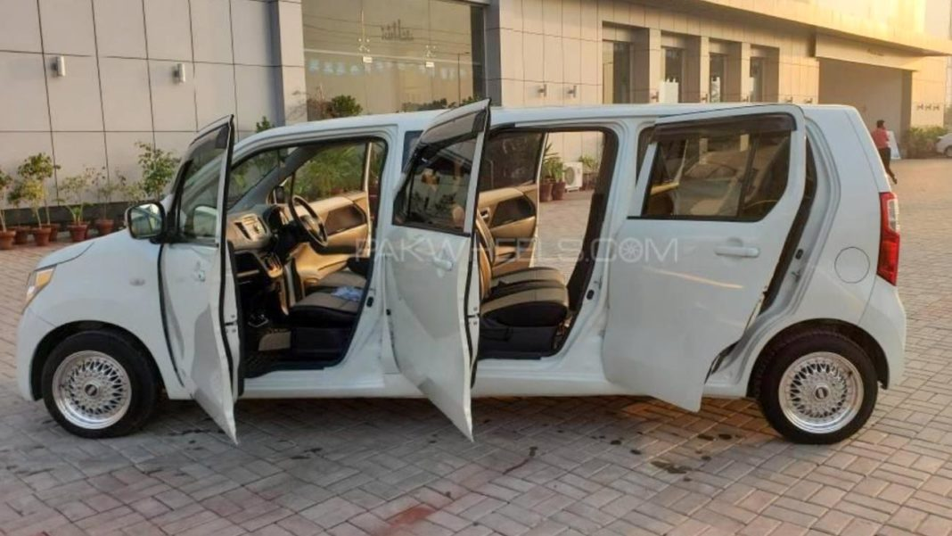 Suzuki Wagon R Transformed Into 7-Door Limousine-2