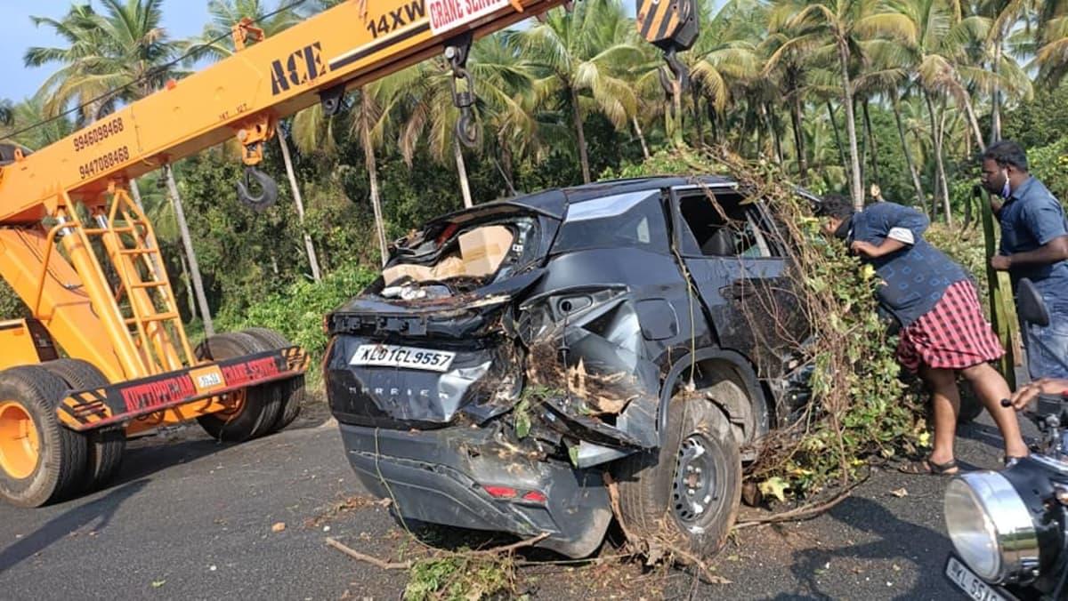 Tata Harrier accident 4